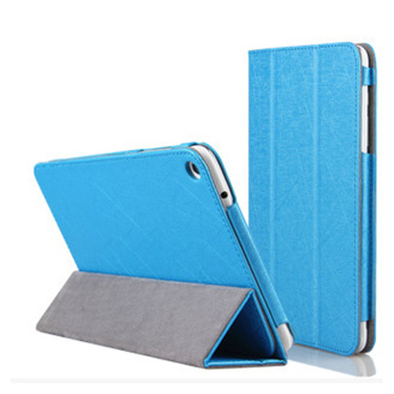 New Ultra Slim Flip Folding Stand Case Cover For Huawei Mediapad T1-821W/T1-823L 8.0 Inch Tablet Case + Pen+Film
