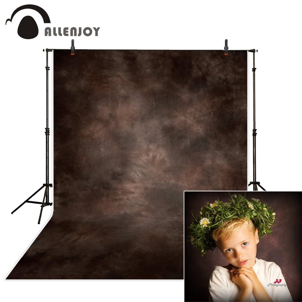 Allenjoy photography backdrop brown hazy fuzzy old master portrait photocall backgrounds photography background for photo studio