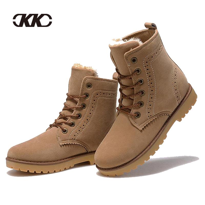 bota cano curto winter shoes women s winter suede boots for men ladies snow  boot botines mujer chaussure femme 444956e7fc4