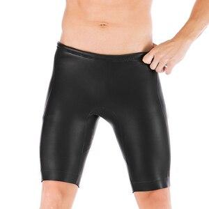 Image 3 - SBART 3mm Mens Wetsuit Shorts Open Cell Smooth Skin Diving Pants Neoprene Waterproof Snorkeling Scuba Diving Kayaking Pants