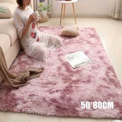 Najnowszy prosty dywan Nordic długi pluszowy miękki dywan dywan dla Hoom sypialnia salon