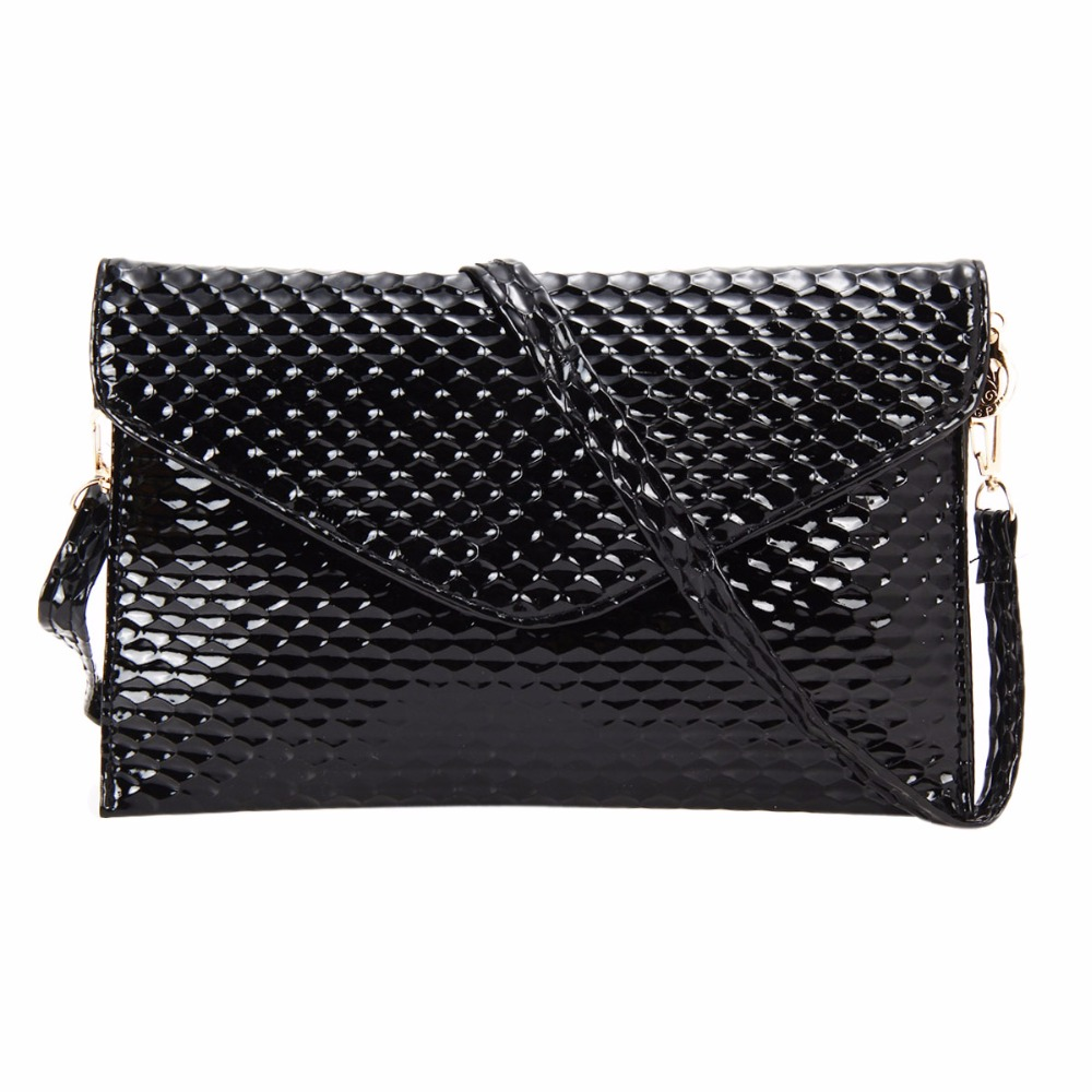 Fashion Envelope Clutch Mini Women Messenger Bags PU Leather Crossbody Bag for Women Handbags Purse Bolsa Femininas Dollar Price lykanefu fashion black rock skull bag women messenger bags designer handbag clutch purse bag bolsas femininas couro dollar price