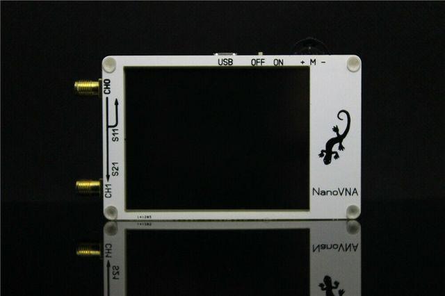2.8 inch LCD NanoVNA VNA HF VHF UHF UV Vector Network Analyzer Antenna Analyzer + PC Software + Battery