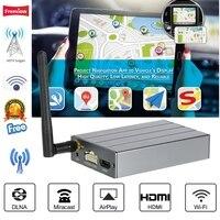 MiraScreen Car WiFi Display Dongle Mirror Box Airplay Miracast DLNA GPS Navigation Car C1 For iOS Android Phone Tablet Pad TV