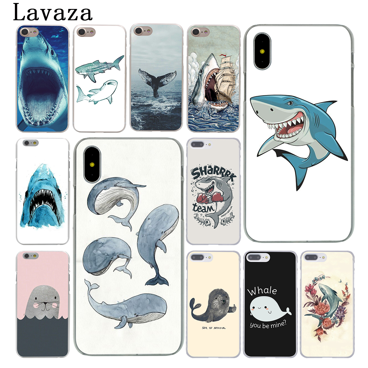 Maiyaca Animal Seal Novelty Fundas Phone Case Cover For Apple Iphone 8 7 6 6s Plus X Xs Max 5 5s Se Xr Cellphones Half-wrapped Case Cellphones & Telecommunications