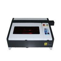 데스크탑 LY 레이저 4040 50W CO2 레이저 조각 기계 디지털 기능 및 벌집 테이블