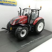 UH 5362 1:32, новая голландская модель T5.120 FIAT CENTENARIO, сельскохозяйственные тракторы, игрушечный автомобиль из сплава, игрушки для детей, литая под давлением модель, подарок