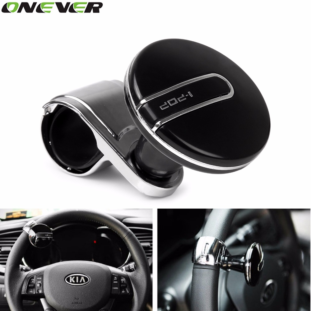Electric Vehicle Parts Controllers Hot Sale Car Auto Black Control Handle Steering Wheel Handle Assist Spinner Knob Booster