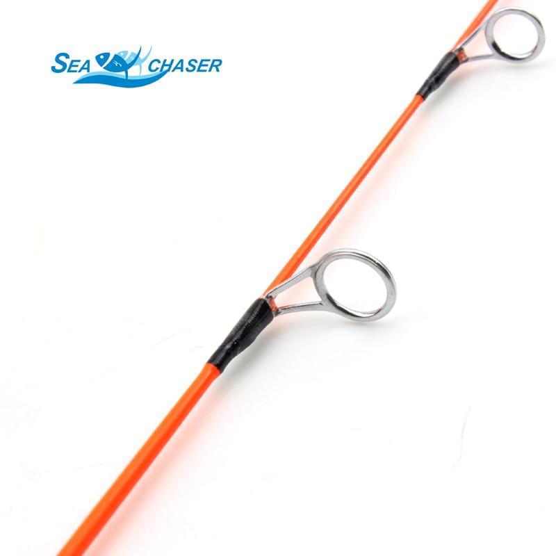 Visoka kvaliteta crvena MINI led ribolov štap ugljika štap 47cm - Ribarstvo - Foto 4