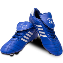 sports Shoes Men soccer anti – skid nail stripe soccer turf training Elastic band Breathable Flat Brands Shoes Running