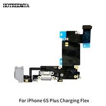 10Pcs/lot USB Charger Flex Cable For iPhone 6SP 6S Plus Usb Charging Dock Port Connector Solt Ribbon Replacement Phone Parts