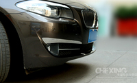 2011 2012 2013 For BMW 5 series f10 /5GT f07 front fog light stripe cover sill 2pcs