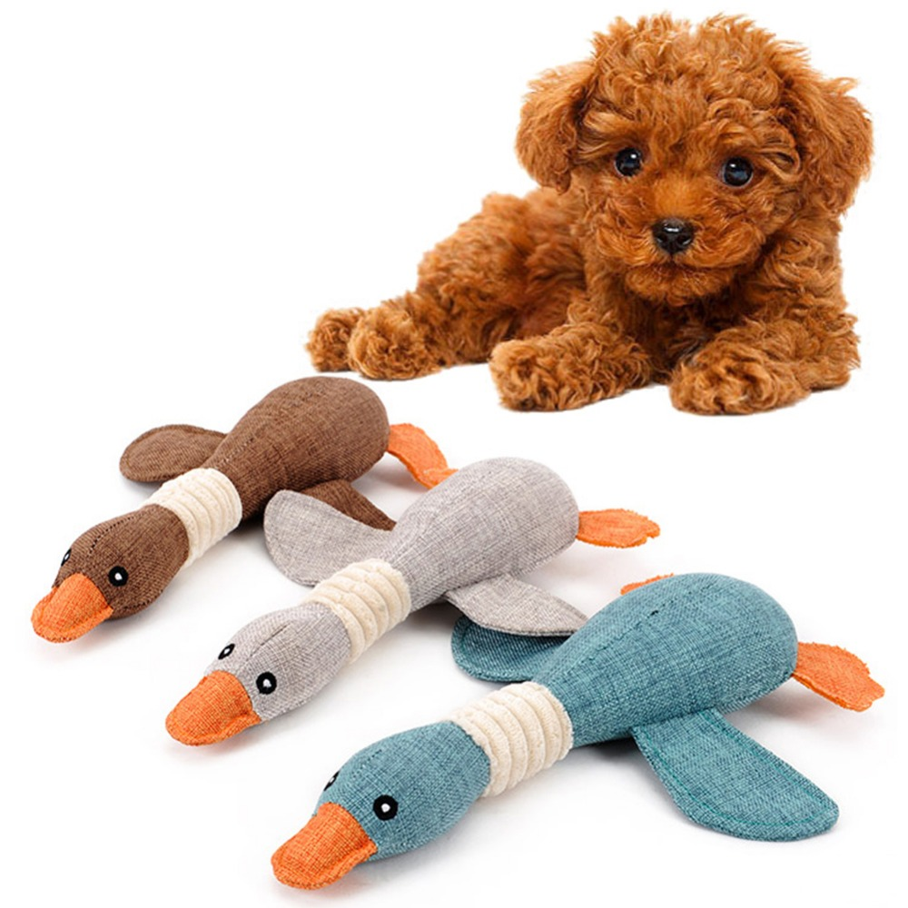 Soothing New Dog Toys Stuffed Squeaking Duck Dog Toy Puppy Honking Duck Fordogs Pet Chew Squeaker Squeaky Toy Random Dog Toys From Home On New Dog Toys Stuffed Squeaking Duck Dog Toy Puppy Honking Duc bark post Why Do Dogs Like Squeaky Toys