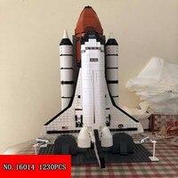 New Plastic Block 16014 Film Series Space Shuttle Children Assembling Insert Alpinia 1230pcs Building Blocks Small Toys