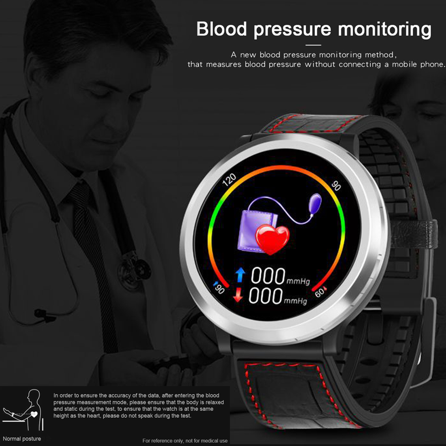 Smart Bracelet Digital Heart Rate Blood Pressure Monitor Pedometer Smart Watch Round Screen Sleep Health Monitoring SmartwatchSmart Bracelet Digital Heart Rate Blood Pressure Monitor Pedometer Smart Watch Round Screen Sleep Health Monitoring Smartwatch