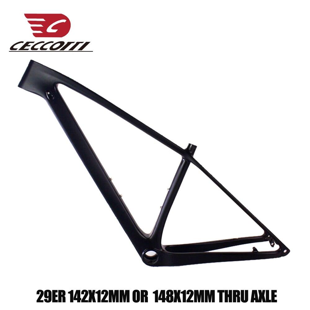 2019 новая модель карбоновой рамы для горного велосипеда 29er T1000 UD рама карбоновая для горного велосипеда 135*9 мм 142/148*12 мм, сменные