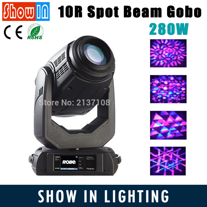 10R 280W Beam Spot Moving Head Light 8000K DMX DJ Disco Party Wedding Professional Stage Lighting Equipment 230V Free Shipping 6pcs lot white color 132w sharpy osram 2r beam moving head dj lighting dmx 512 stage light for party
