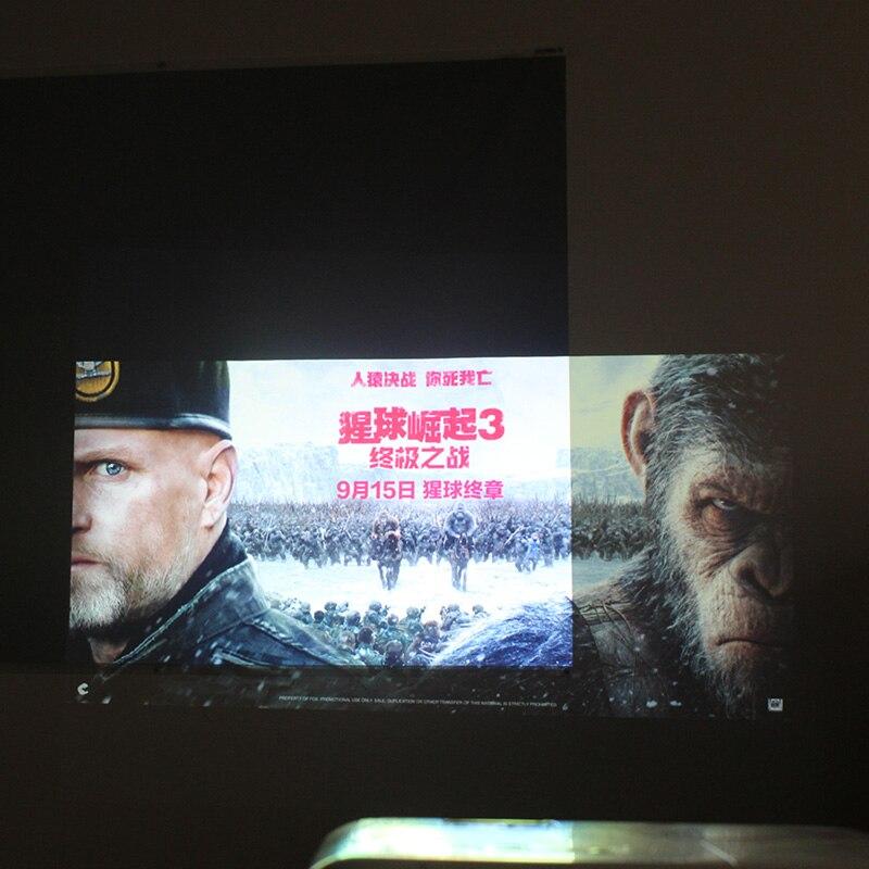 100 120 133 pouce Haute Luminosité Projecteur écran réfléchissant tissu tissu écrans de projection pour Epson Sony Benq XGIMI JMGO