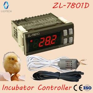 Image 1 - ZL 7801D, Multifunktionale Automatische Inkubator Controller, Mini XM 18, Temperatur Feuchtigkeit inkubator controller, Lilytech