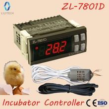 ZL 7801D, contrôleur dincubateur automatique multifonctionnel, Mini XM 18, contrôleur dincubateur dhumidité de la température, Lilytech