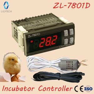 Image 1 - ZL 7801D, controlador de incubadora automática multifuncional, Mini XM 18, controlador de incubadora de humedad de temperatura, Lilytech