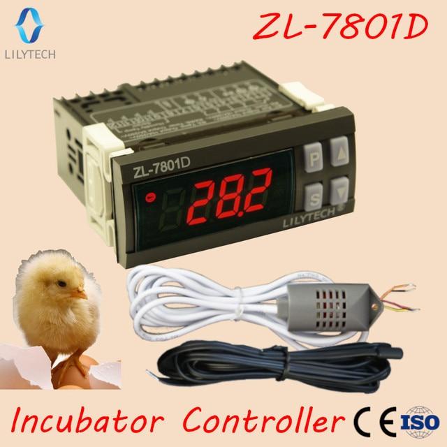 ZL 7801D, controlador de incubadora automática multifuncional, Mini XM 18, controlador de incubadora de humedad de temperatura, Lilytech