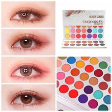 Beauty Glazed Shimmer Eye Shadow Pigmented Palette Cosmetics Professional Eyeshadows Ultra Nude Soft Natural Maquillage