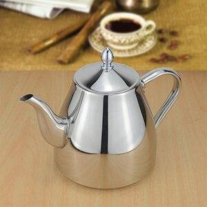 Image 2 - Sanqia נירוסטה תה סיר עם תה מסננת קומקום עם infuser תה סטי teaware תה קומקום infuser קומקום עבור אינדוקציה