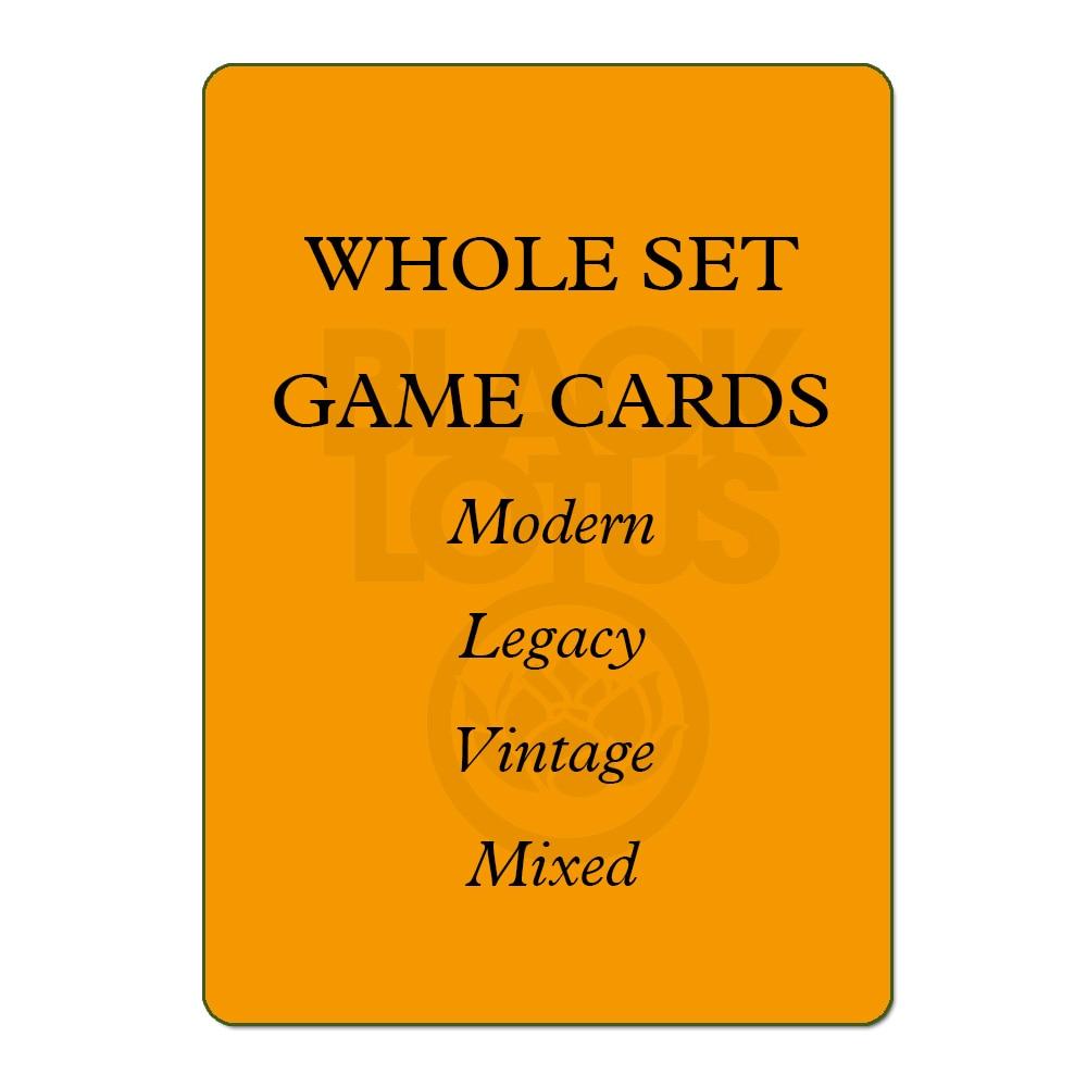 7.0 WHOLE SET 56PCS/LOT Black Core Modern/Legacy/Vintage/Lands Set Mixed Black Lotus TOP Quality Playing Cards Board Games Poker