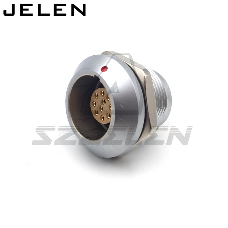 waterproof connector 10 pins socket, SZJELEN connector  EGG.2K.310.CLL , 2K 10 pin Connector lemo 1b 6 pin connector fgg 1b 306 clad egg 1b 306 cll signal transmission connector microwave connectors