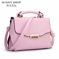 SUNNY SHOP High Quality Women Messenger Bags Handbags Women Famous Brands Shoulder Bag Ladies Hand Bags