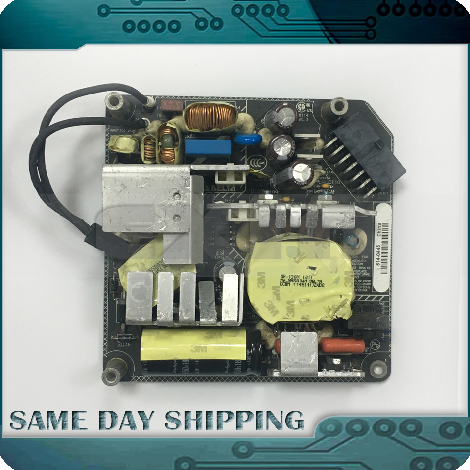 Original for iMac 21.5 A1311 OT8043 ADP-200DF B PSU Power Supply Board 205W 614-0445 661-5299 614-0444 2009 2010 2011 Year 100% new original for imac a1311 inverter board model v267 701 2009 2010