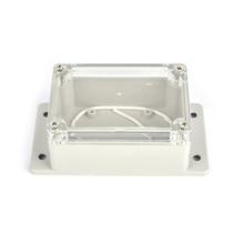 1pcs 100*68*50mm Electronics Enclosure Clear Plastic Enclosure Waterproof Junction Box Switch Box DIY PLC Project Box