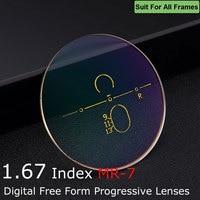 42e4b2ae2 Eyewell Optical 1 67 Digital Free Form Progressive Optical Prescription  Spectacles Eyeglasses Eyewear Lenses For Men. 1.67 Alto Índice ...