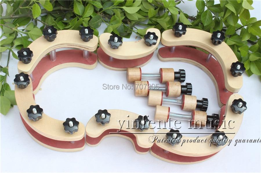 1 set  Violin Clamps tools Clamp Repair Violin Tool Tuthier Violin Maker    #Q27 кошельки бумажники и портмоне petek s15028 als 10