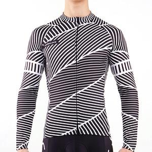 Image 4 - Maillot de cyclisme pour homme à manches longues, à séchage rapide, Maillot de sport dautomne