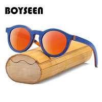 e879d8254 BOYSEEN 2018 Skateboard Children Sunglasses Handmade Sunglasses UV400  Protection Wood Kids Sunglasses 5635. BOYSEEN 2018 Skate crianças óculos ...