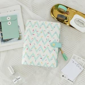 Image 1 - Lovedoki 2019 Cute Doughnut A5 Planner Dokibook Spiral Notebooks Organizer Agenda for Filofax Student Diary Stationery Supplies
