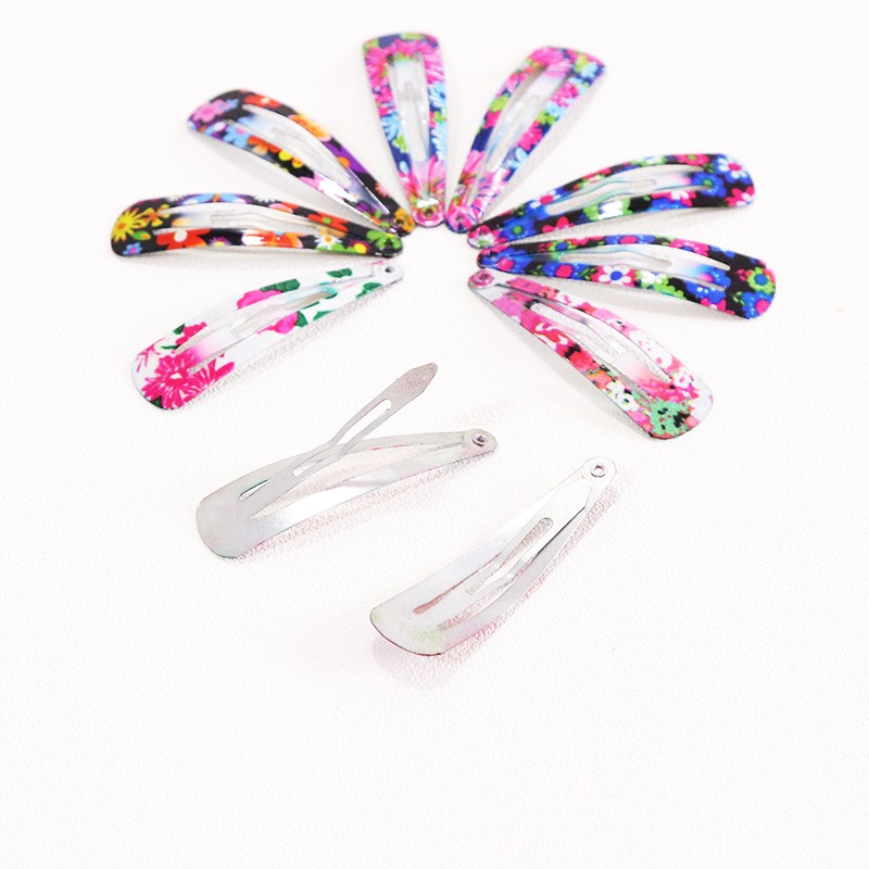 HTB1avuKOpXXXXbaapXXq6xXFXXXl Delightful Flower Geometric Print Hair Clip Set For Women - 7 Sets