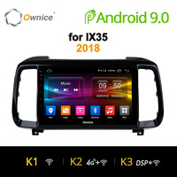 Ownice K1 K2 K3 Eight Core Android 9.0 Car radio 2 din DVD player GPS for Hyundai iX35 Tucson 2 3 2010 2015 /2018 automagnitol