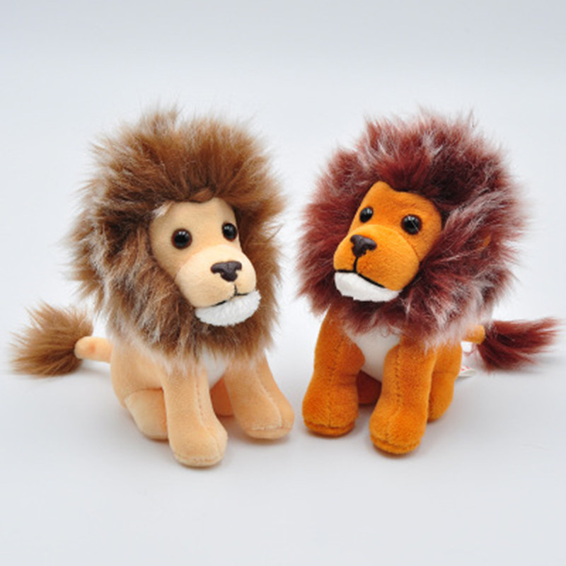1 Pc Random Plush Keychain Lion Key Ring Kawaii Toys Gift Bag Charms Accessory Pendant Mini Stuffed Car Auto Key Chains Gift Jewelry Sets & More Jewelry & Accessories