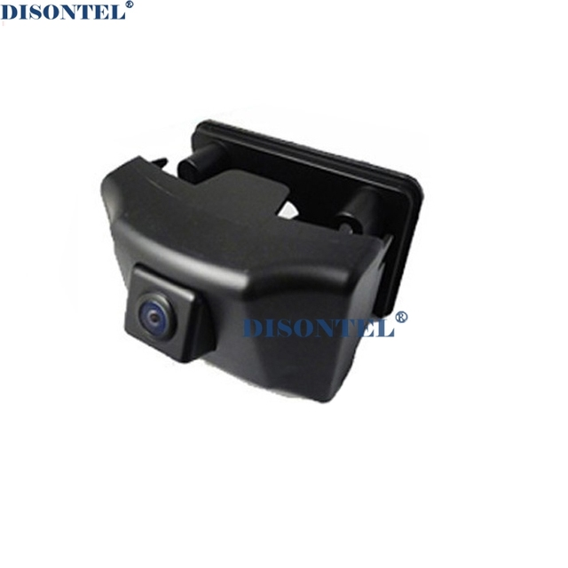 Free Shipping New Auto Car Security Front View Logo Camera Wide Degree Front View Grill Grille Cmera for 2012 Toyota Prado