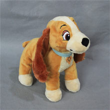 1 piece 30cm 11.8'' Lady and the Tramp Lady Dog Plush Toys Doll For kids Gifts&birthday(China)