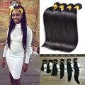 Hot Selling 8A Brazilian Virgin Hair Straight Brazilian Hair Weave Bundles 4 Pcs Full Head Rosa Brazilian Hair Bundles Extension