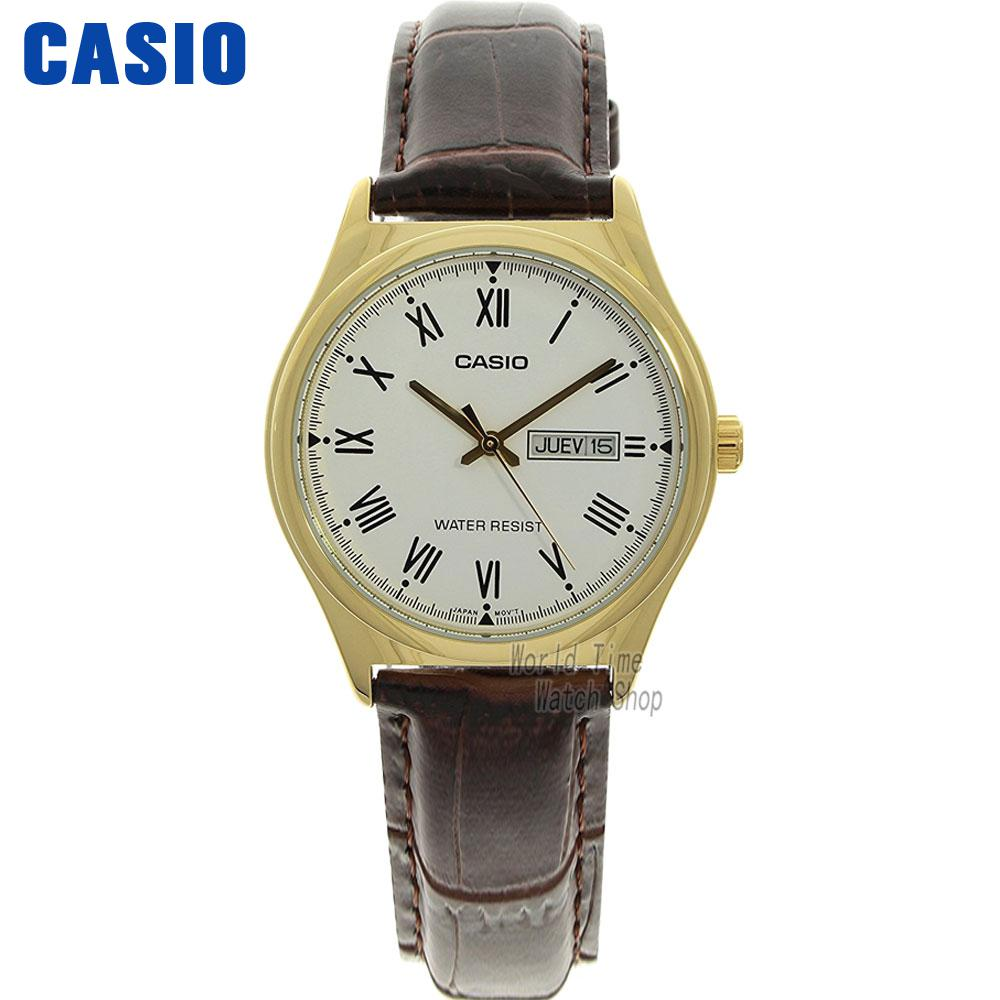 Casio watch Simple fashion sports comfortable student watch LTP-V002D-7A LTP-V006D-1B LTP-V006D-2B LTP-V006D-4B LTP-V006D-7B часы casio ltp e118g 5a
