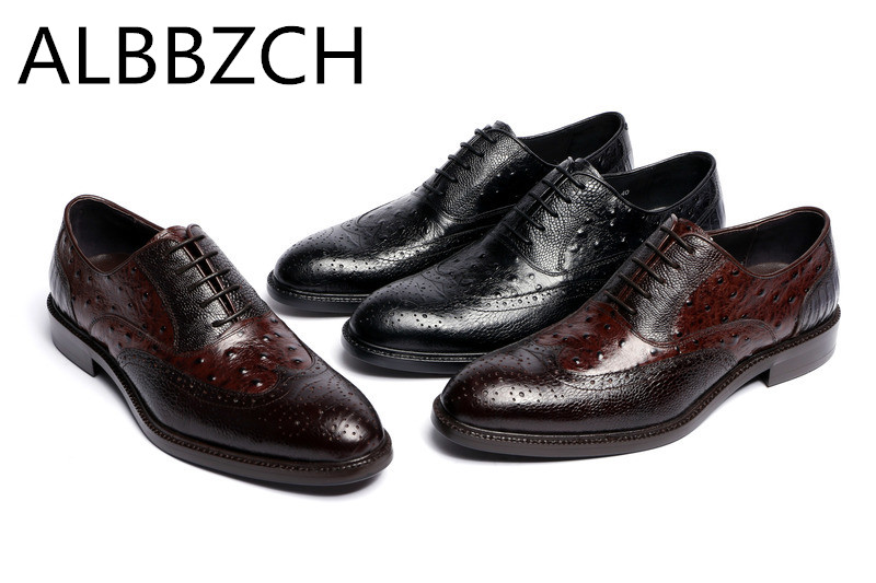 Luxury brand designer embossing leather men shoes oxfords round toe lace high grade business dress work shoes mens wedding shoesLuxury brand designer embossing leather men shoes oxfords round toe lace high grade business dress work shoes mens wedding shoes