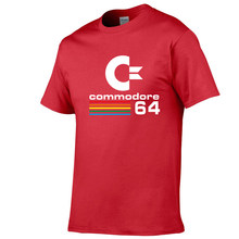 2019 Summer Commodore 64 T Shirts C64 SID Amiga Retro 8-bit Ultra Cool Design Vinyl T-shirt Mens Clothing With Short Sleeve(China)