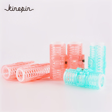 4Pcs/Pack Hair Curler Roller Hairdressing Physical Curls Home Use DIY Magic Large Self-Adhesive Hair Rollers Styling Beauty Tool