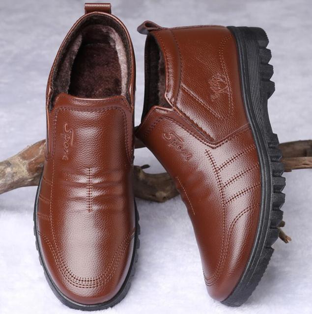 Купить ботинки мужские зимние утепленные роскошные брендовые теплые картинки цена