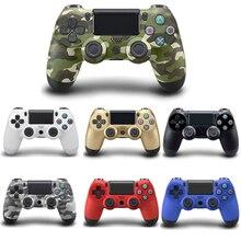 Беспроводной геймпад Bluetooth для Playstation 4 контроллера джойстик для игр пульта для PC Win 7/8/10 для PS3 консоли с кабелем